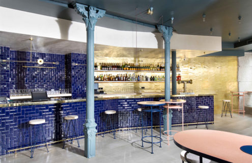 Lucas Y Hernández-Gil uncork a champagne-inspired restaurant in Madrid