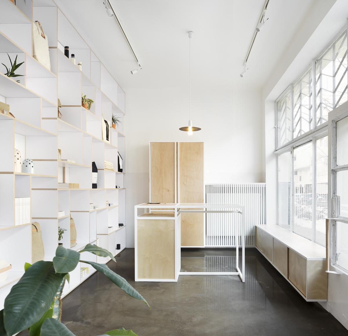 Thisispaper flagship store in Warsaw