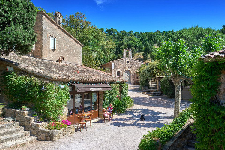 Johnny Depp estate, South of France via Sotheby's