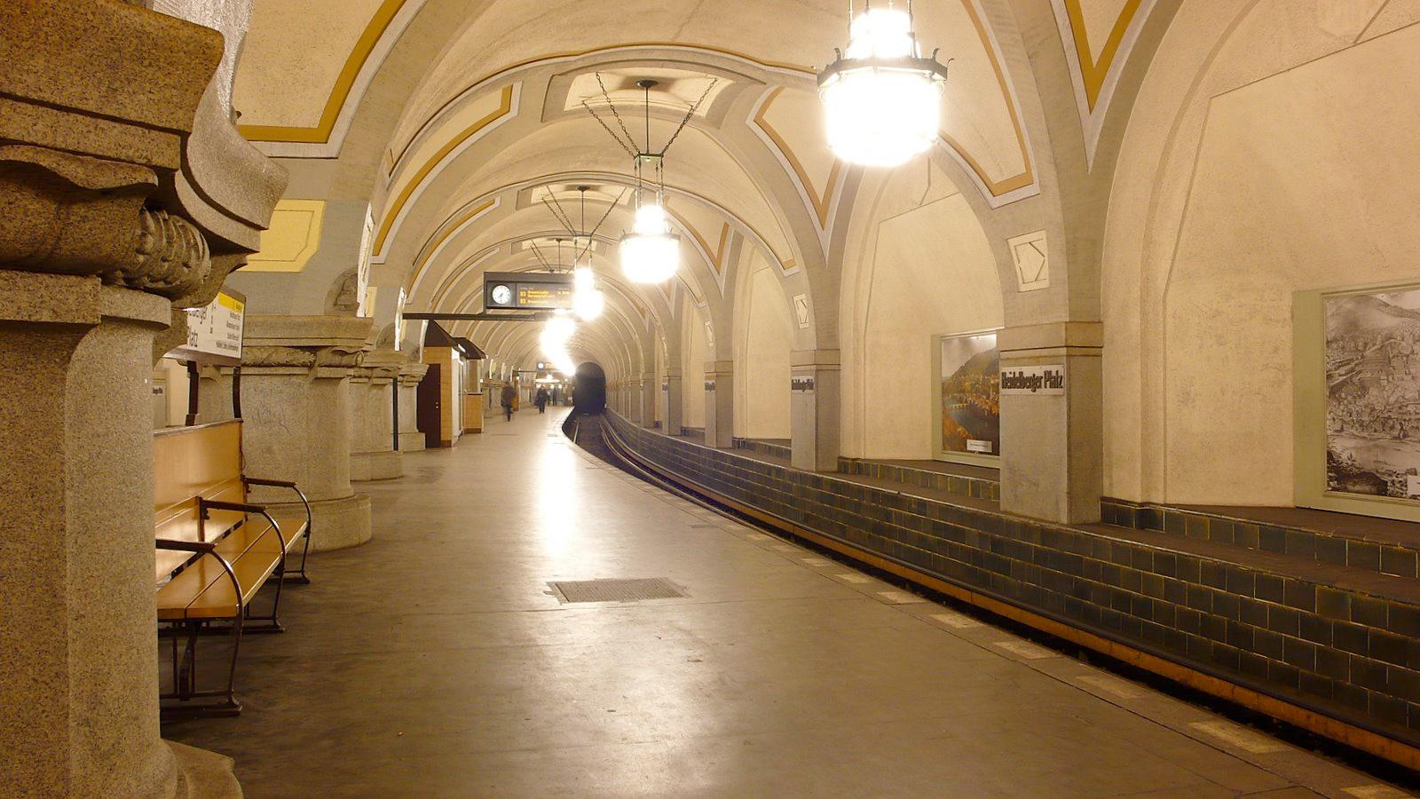 Berlin's Heidelbergerplatz station