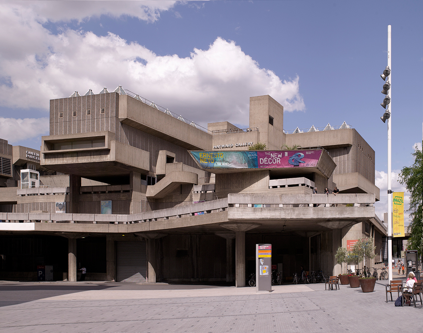 Hayward Gallery, courtesy of the Southbank Centre. Photography: Ed Reeves