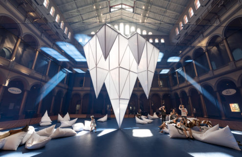 High Line architects create a world of icebergs in DC's National Building Museum