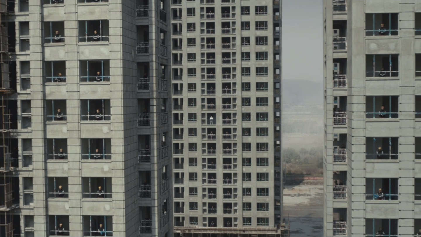 Jamie XX 'GOSH' video in Tianducheng