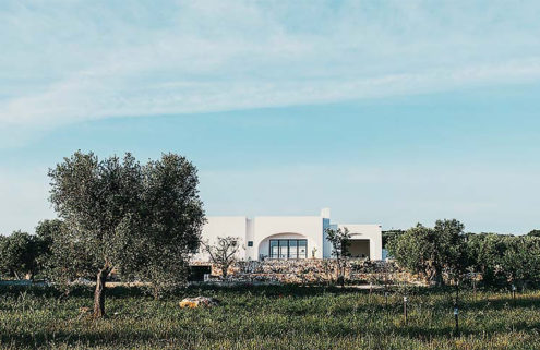 A modern farmhouse retreat opens in Italy's Puglia