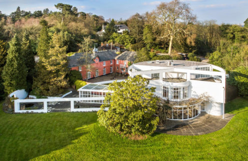 Roxy Music guitarist's former Surrey home and studio hits the market