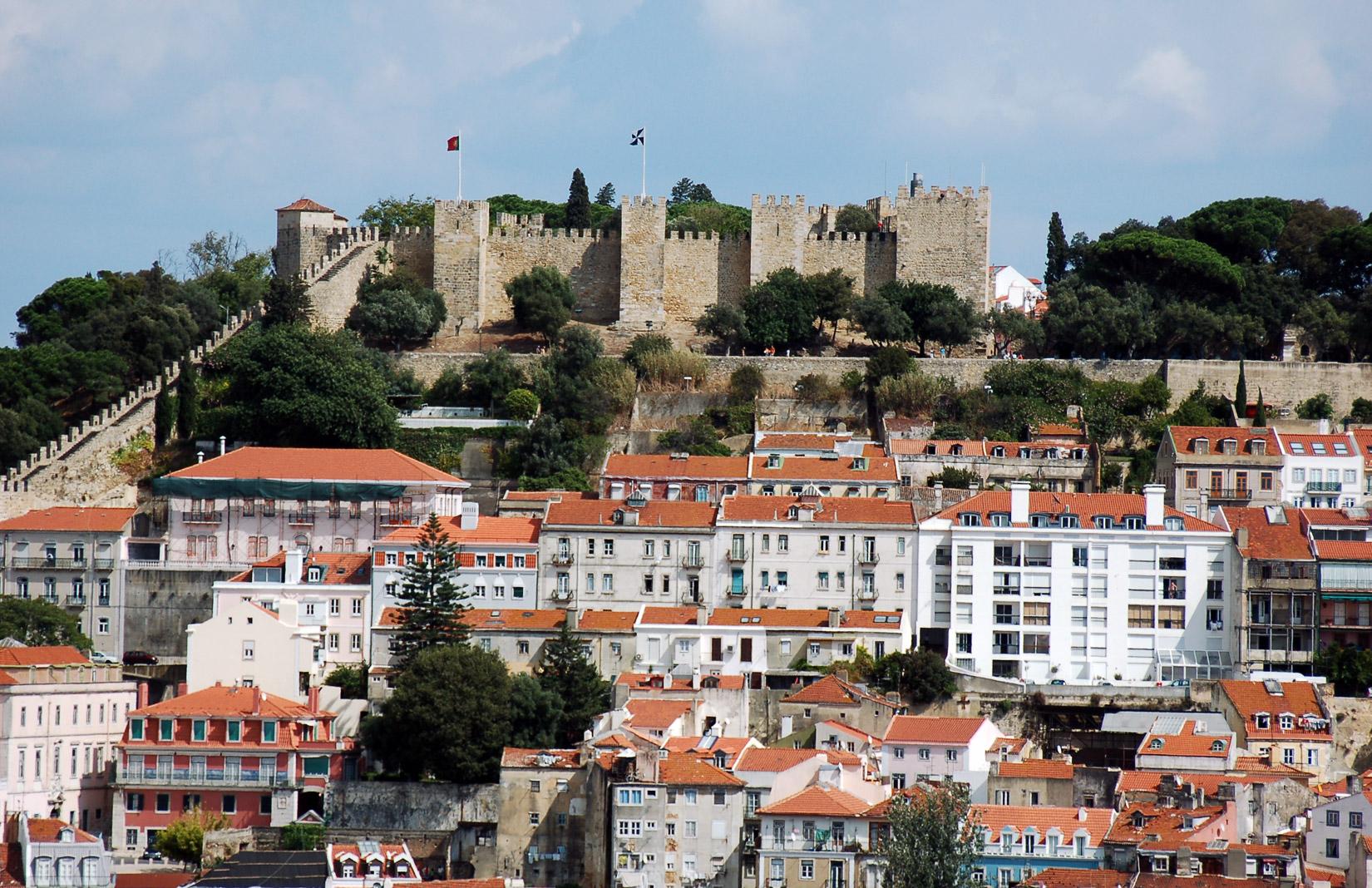 Sao Jorge Castle, Lisbon. Photography: Mstyslav Chernov