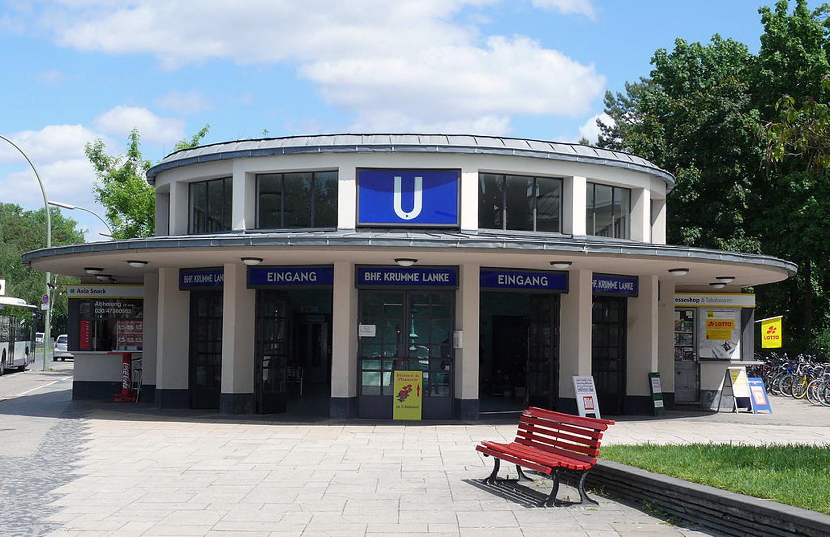 Krumme Lanke station, Berlin