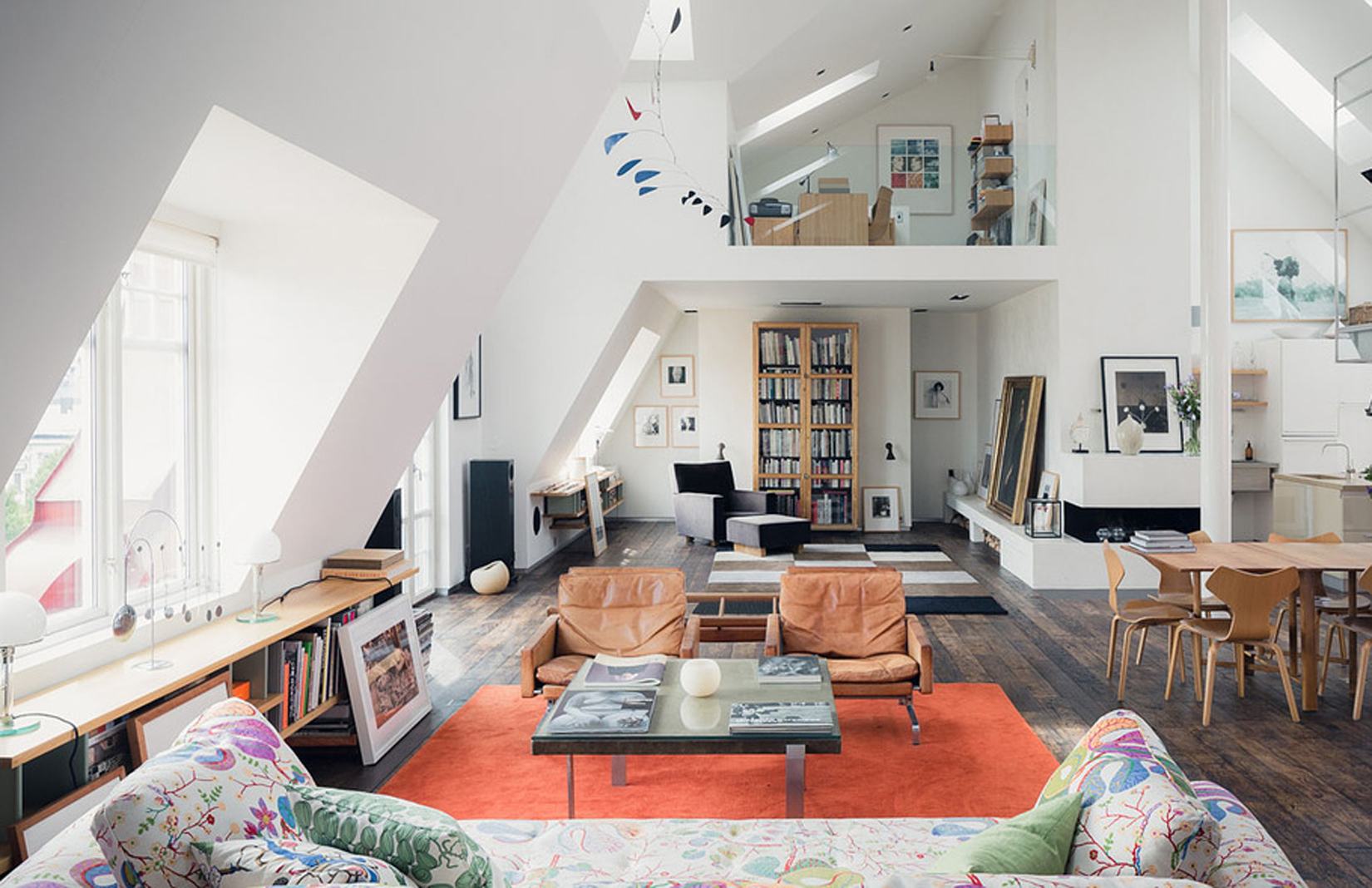 Maria square penthouse in stockholm via wrede