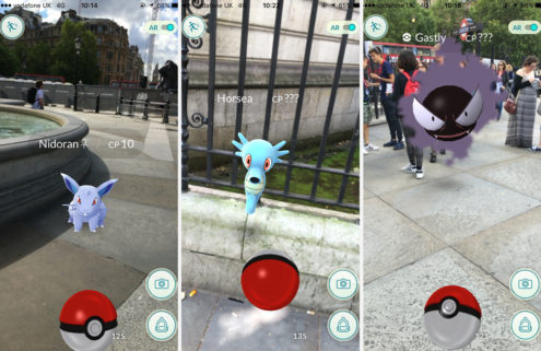 You'll never look at London the same way again after playing Pokemon GO