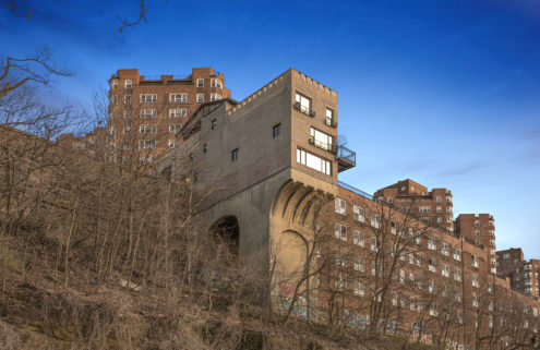 Manhattan's cliffside 'Pumpkin House' hits the market for $5.25m