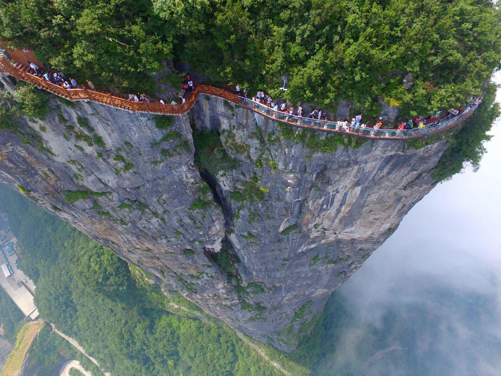 Tianmen Mountain walkway