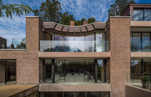 Claudio Silvestrin-designed home hits the market in London's Hampstead