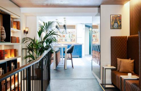 Amastan hotel turns Parisian design tradition upside down – literally