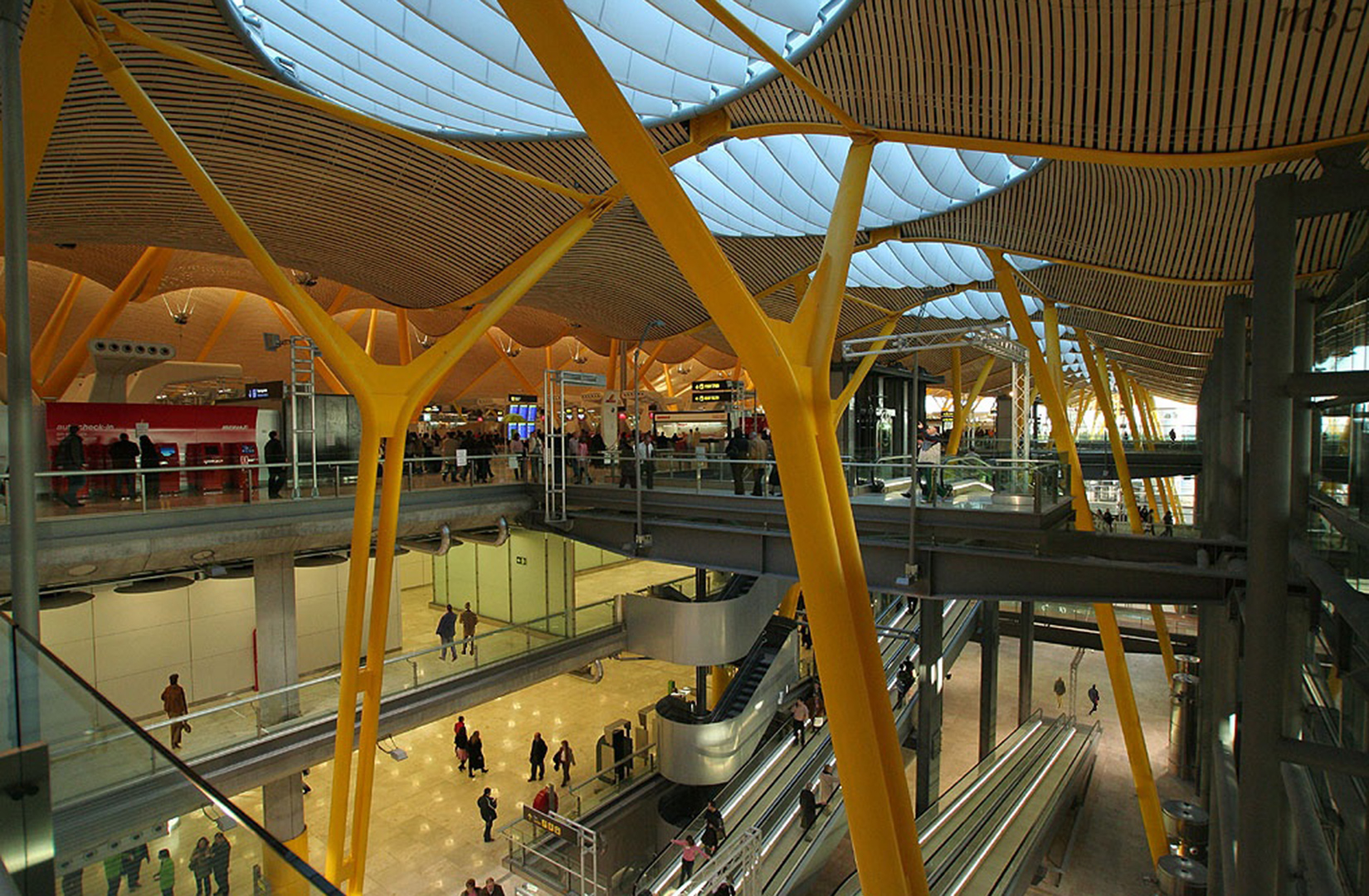 Terminal 4 Madrid Airport