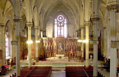 A crypt inside St Patrick's Old Cathedral in New York could be yours – for $7m