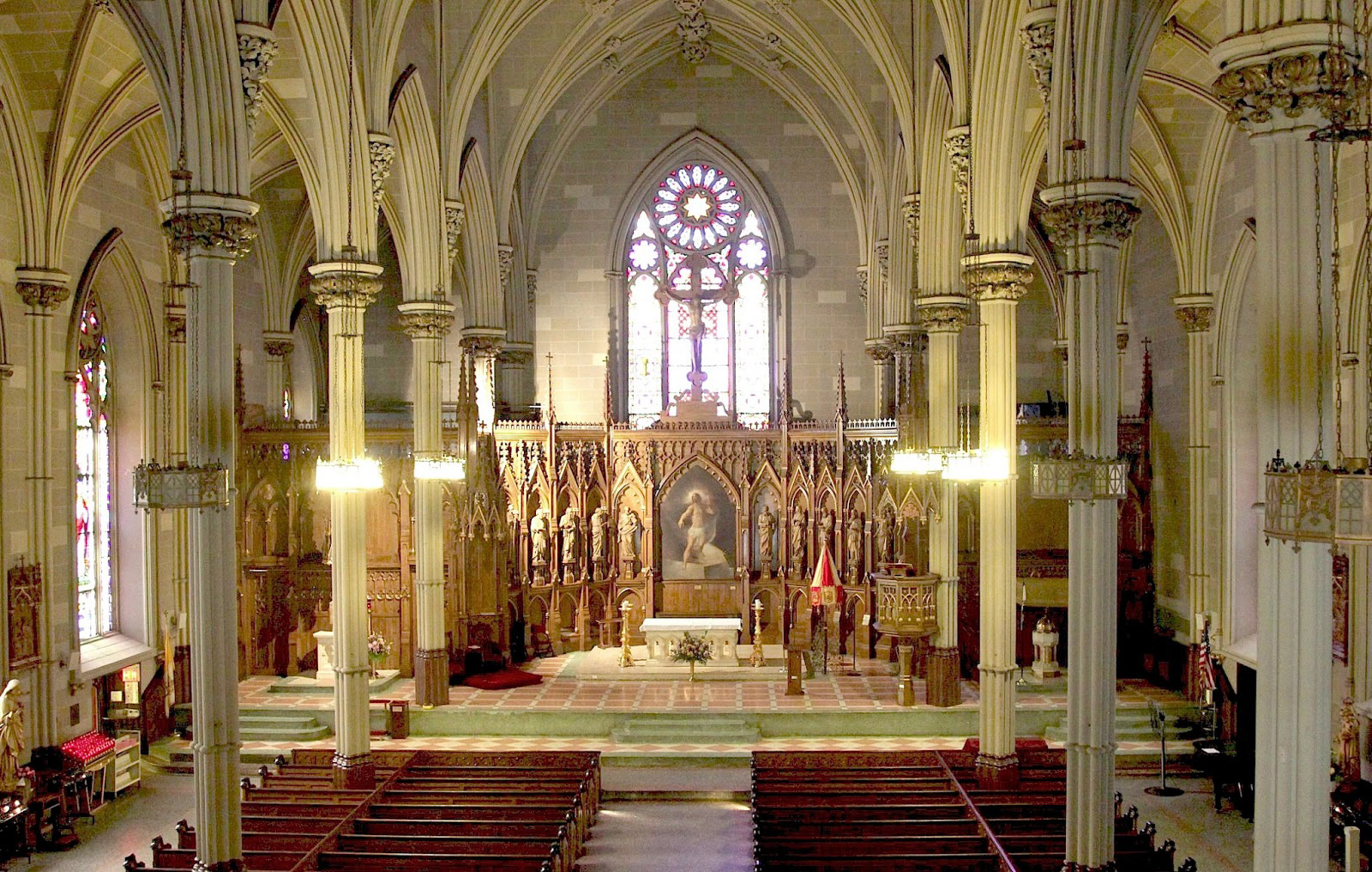 Basilica of Old St Patrick's New York