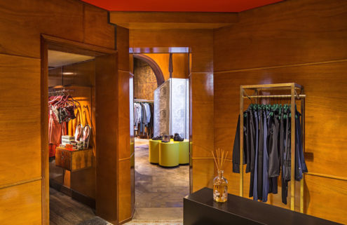 Antwerp retailer Enes opens a destination store you can spend the night in