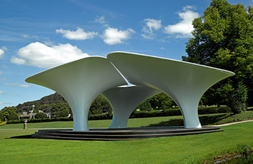 Zaha Hadid's 2007 Serpentine Pavilion is up for sale