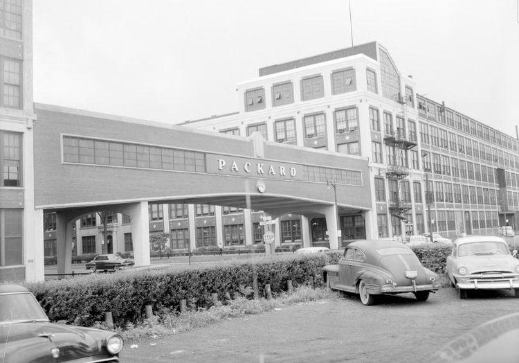 The Packard Plant in 1954. Courtesy of John Lloyd
