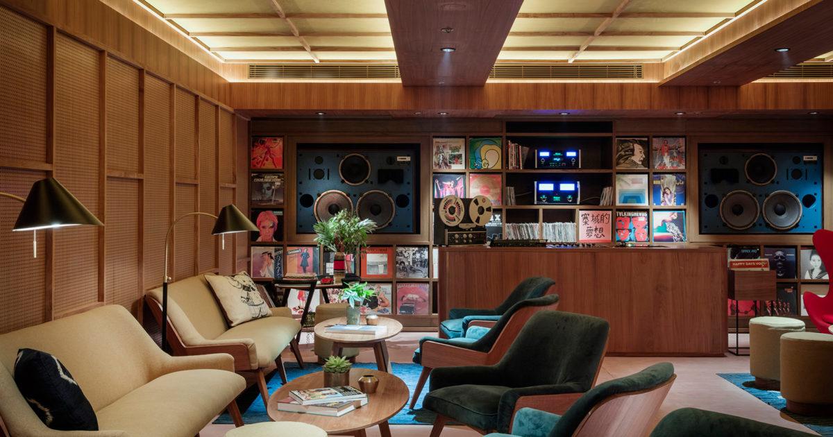 Music Room Vinyl Library Opens In Sou Fujimoto Designed Potato Head Hong  Kong