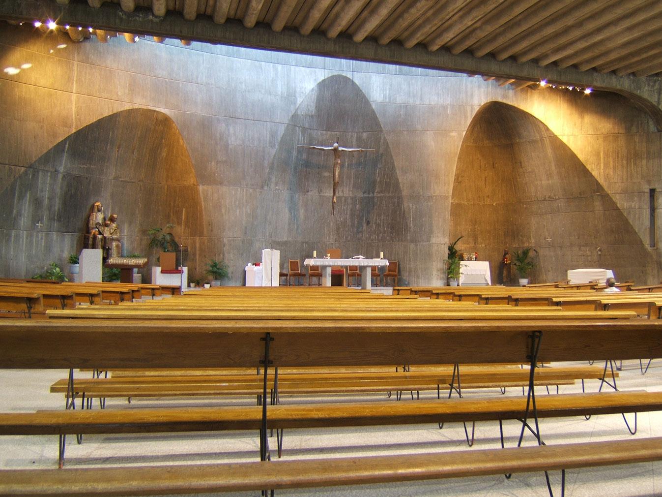 Santa Ana church in Madrid