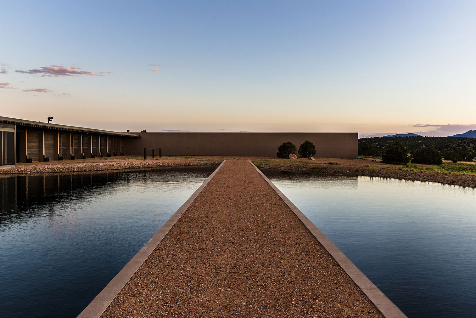 Tom Ford's ranch, designed by Tadao Ando