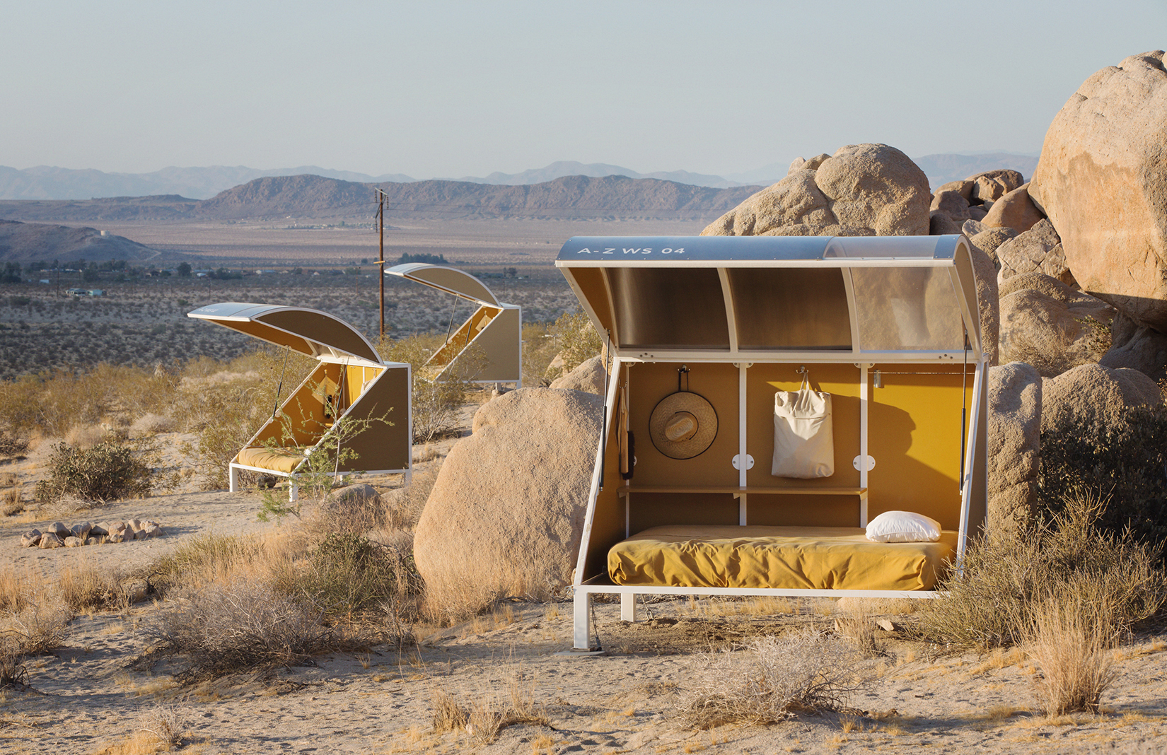 Wagon Station Encampment in Joshua Tree, USA