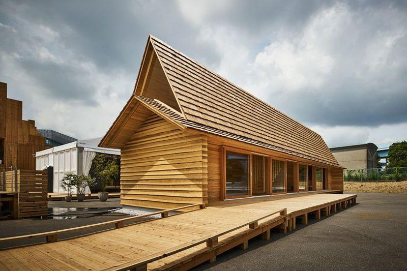 Airbnb's Yoshino-Sugi Cedar House
