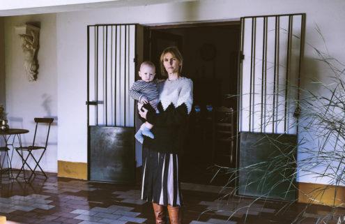 fashion designer Gabriela Hearst at home in Uraguay