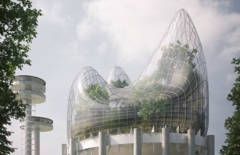 New York State Pavilion is reborn as a skygarden in competition-winning design
