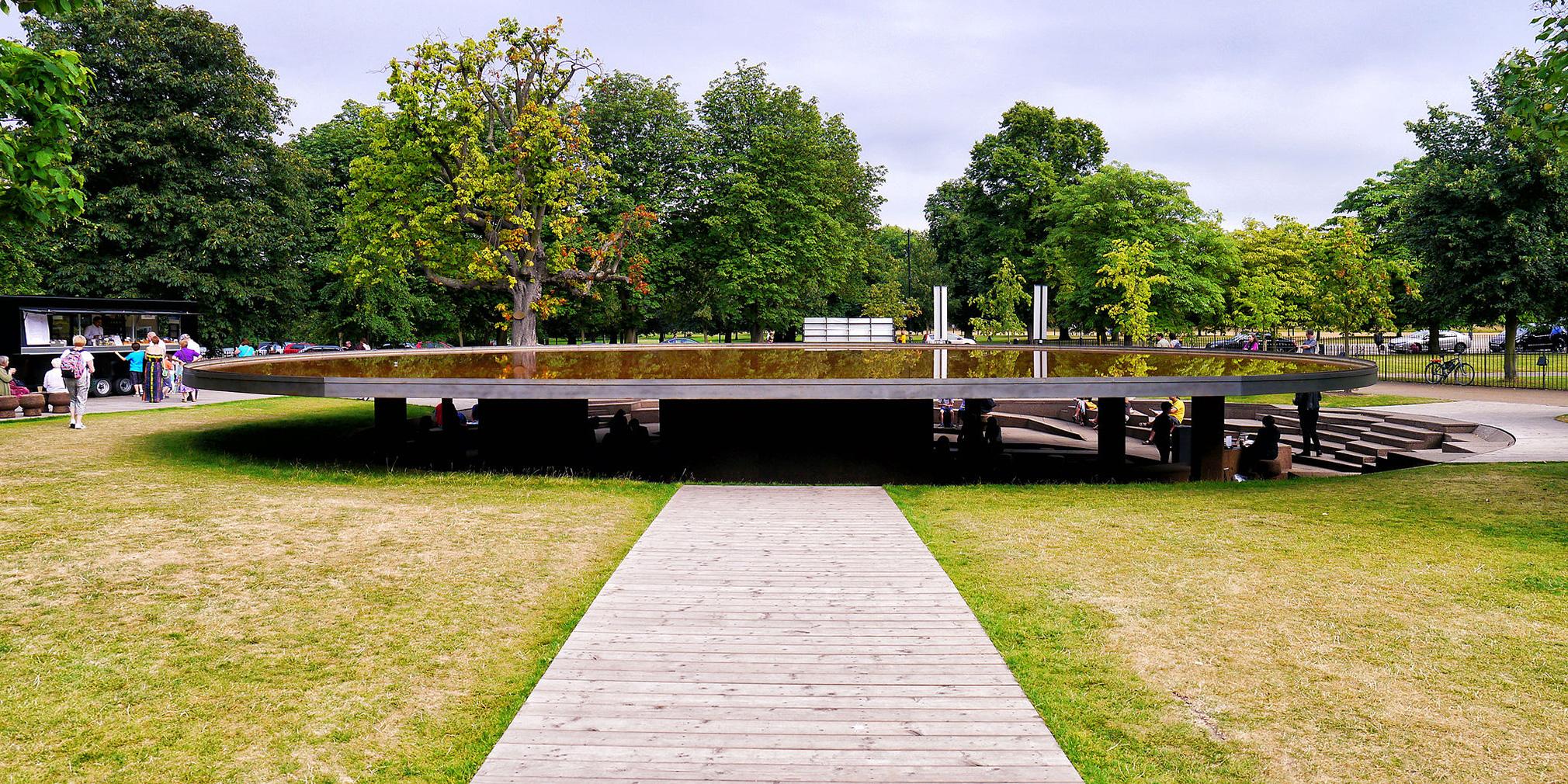 Ai Wewei and Herzog & de Meuron's 2012 Serpentine Gallery Pavilion