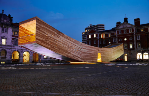 Alison Brooks brings a giant smile to London Design Festival