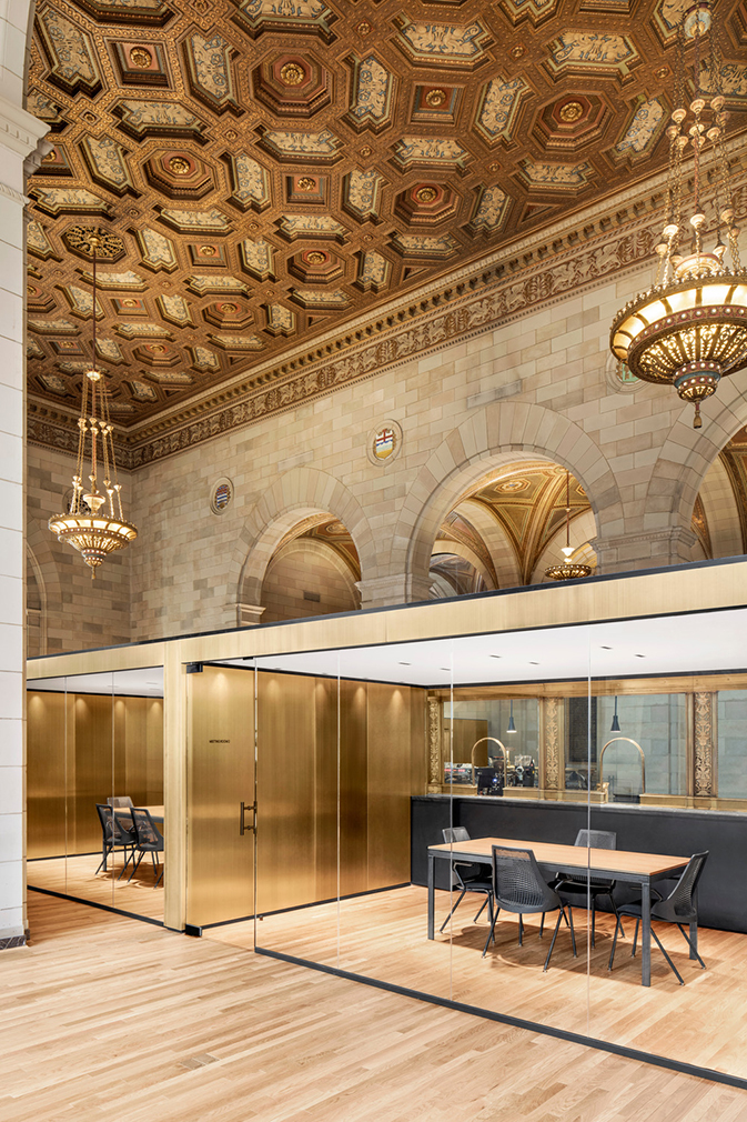 Montreal s royal bank tower is converted into crew for Interior design agency montreal