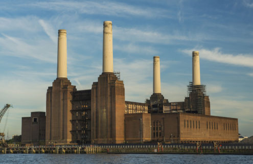 Apple to open a giant campus in London's Battersea Power Station