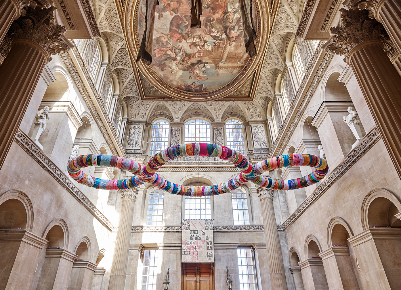 'Third Paradise' (2003-­‐2016) by Michelangelo Pistoletto. Photography: Tom Lindboe / courtesy:Blenheim Art Foundation