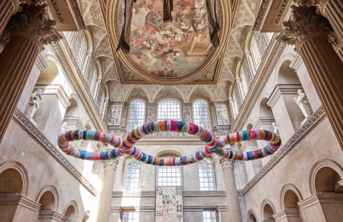 Michelangelo Pistoletto brings his rag sculptures to Blenheim Palace