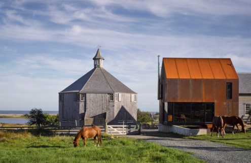 Rental of the week: a steel-clad cabin in Nova Scotia by Brian MacKay-Lyons