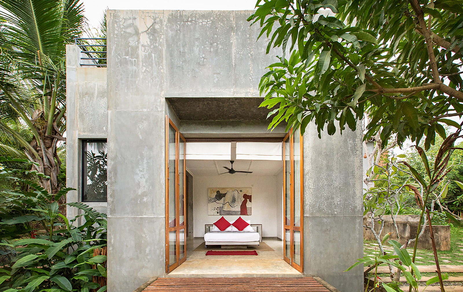 7 brutalist holiday homes you can rent for Sri lanka modern house photos