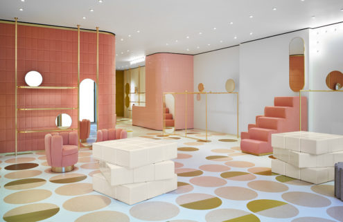 Red Valentino opens a dreamy pink London flagship store