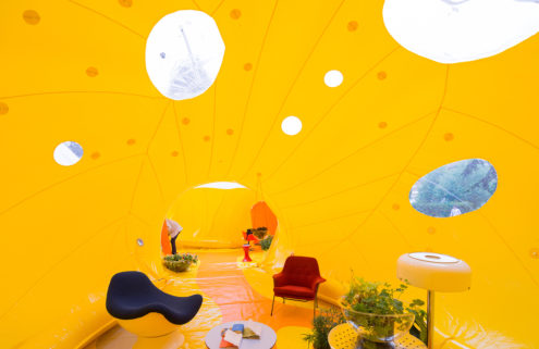 Second Home are bringing a giant yellow dome to east London