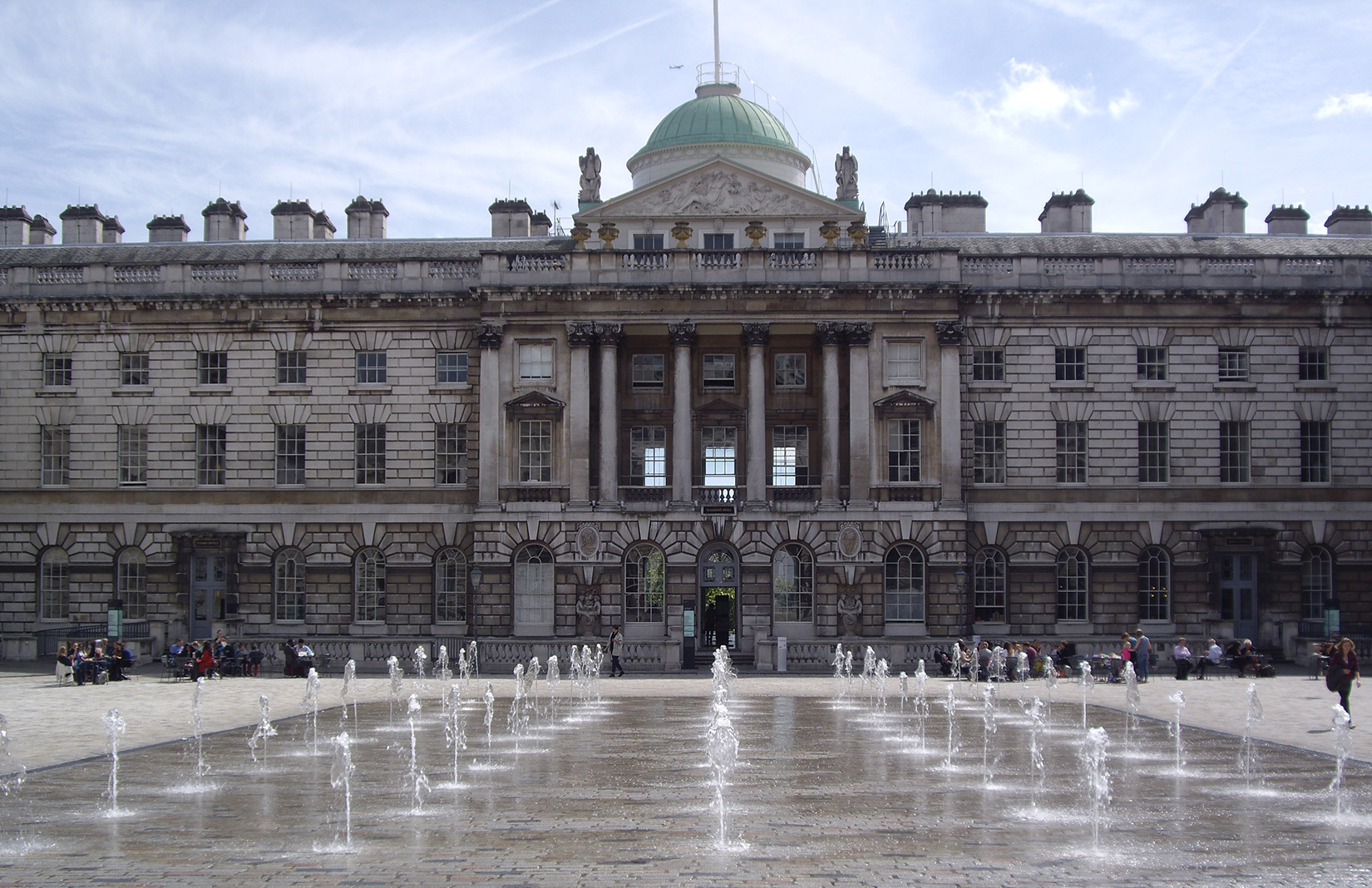 Somerset House on The Strand is set to launch Somerset House studios