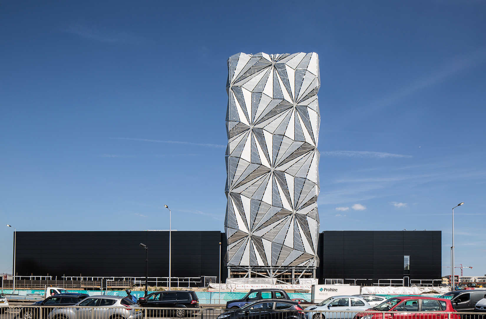 Conrad Shawcross Turns An Emissions Tower Into A Sculpture