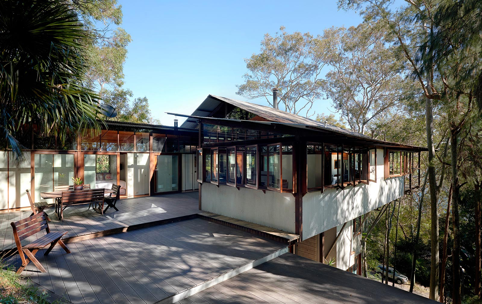 Nice Treetop House #10: Treetop House By Peter Stutchbury