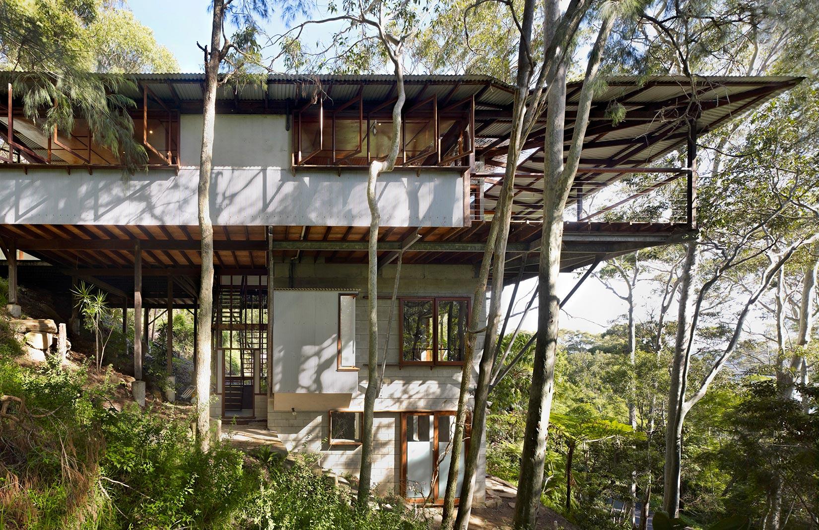 Awesome Treetop House #4: Treetop House By Peter Stutchbury