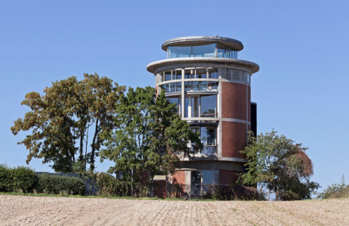 Rental of the week: a converted water tower in Lower Saxony, Germany