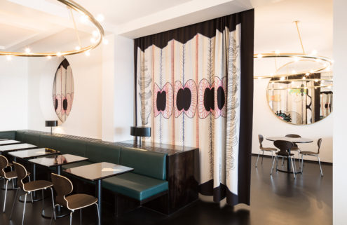 Art Deco-style Victor Café opens in Brussels' Bozar Arts Centre