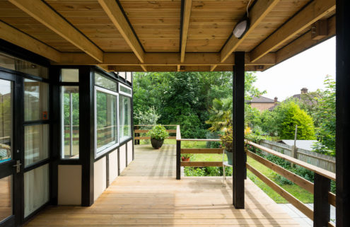 Walter Segal-designed home goes on sale in London's Lewisham