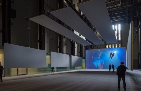 Philippe Parreno turns Tate's Turbine Hall into a giant fish tank
