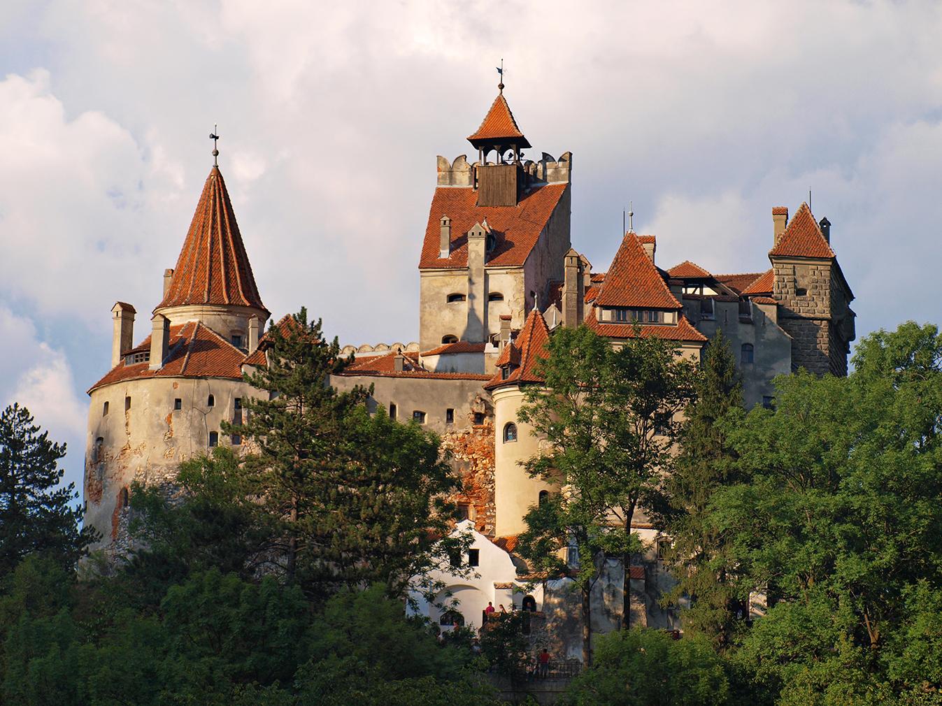 Dracula's Castle, Bram Stoker Inspiration, Romania