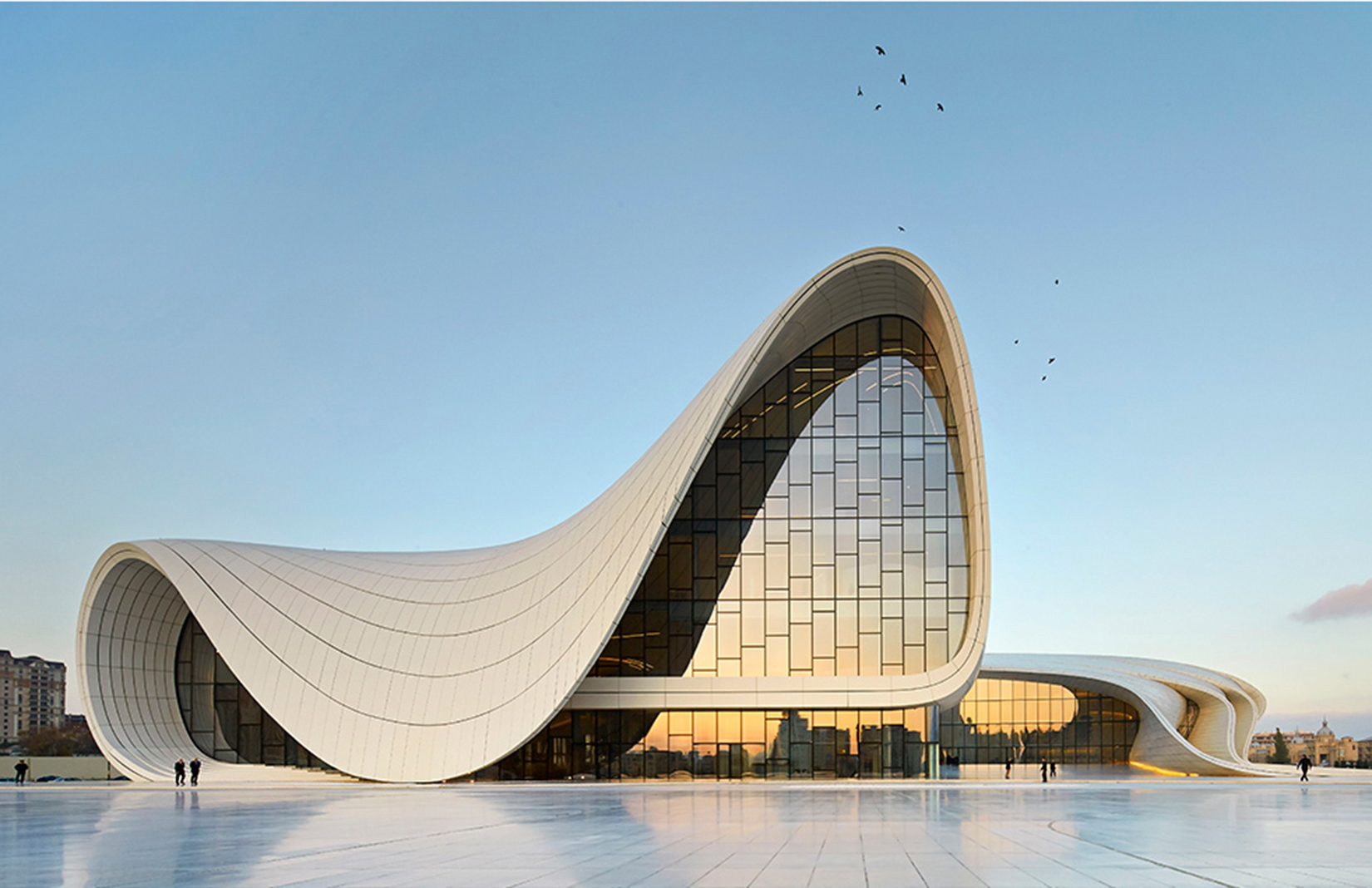 The Heydar Aliyev Center is the best building in the world
